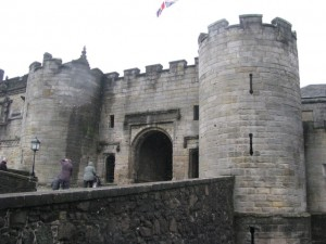 Stirling Castle, James IV gatehouse
