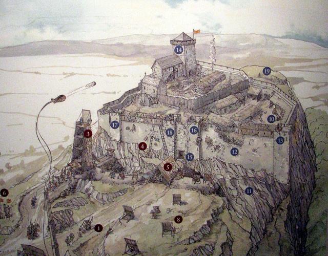 Stirling Castle, the reason for the Battle of Bannockburn