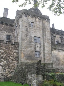 Southern tower and curtain wall, Stirling Castle