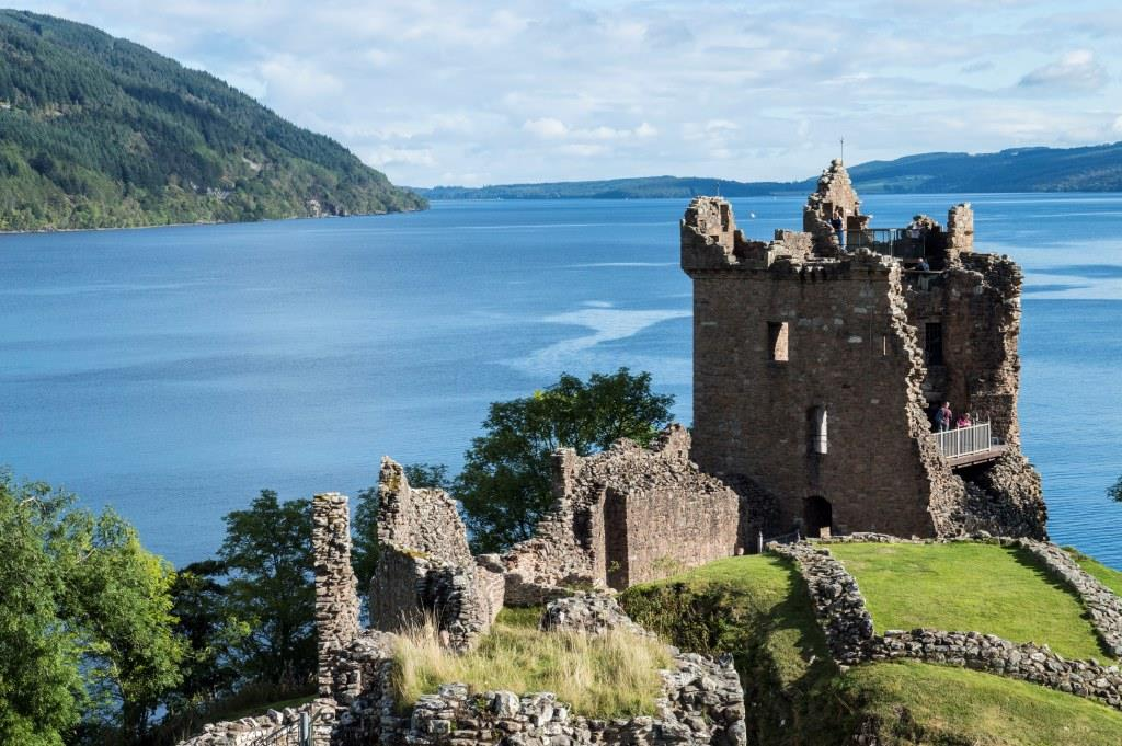 Urquhart Castle on Castle Gatehouse