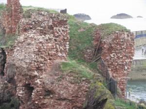 Barbican, Dunbar Castle